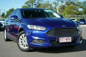 2016 Ford Mondeo MD Ambiente Blue 6 Speed Sports Automatic Dual Clutch Hatchback Hillcrest Logan Area Preview