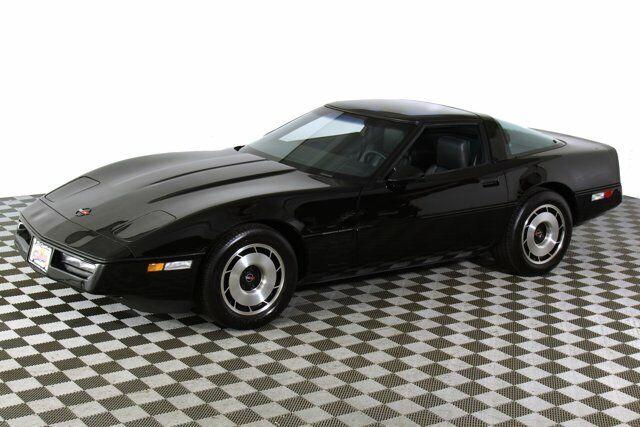 1984 Black Chevrolet Corvette   | C4 Corvette Photo 4