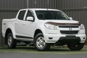 2015 Holden Colorado RG MY16 LS Crew Cab 4x2 White 6 Speed Sports Automatic Utility Wantirna South Knox Area Preview