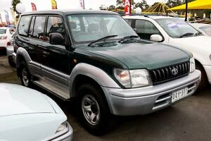 1997 Toyota Landcruiser Prado VZJ95R GXL Green 4 Speed Automatic Wagon Ringwood East Maroondah Area Preview