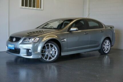 2010 Holden Commodore VE II SS-V Redline Edition Silver 6 Speed Automatic Sedan
