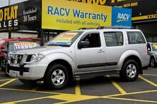 2007 Nissan Pathfinder R51 MY07 ST (4x4) Silver 5 Speed Automatic Wagon Ringwood East Maroondah Area Preview