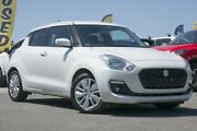 2017 Suzuki Swift AZ GL Navigator White 1 Speed Constant Variable Hatchback Pearce Woden Valley Preview