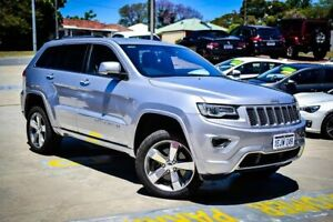 2014 Jeep Grand Cherokee WK MY2014 Overland Silver 8 Speed Sports Automatic Wagon Myaree Melville Area Preview
