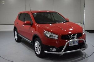 2013 Nissan Dualis J10W Series 4 MY13 TS Hatch 2WD Red 6 Speed Manual Hatchback Invermay Launceston Area Preview
