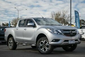 2015 Mazda BT-50 UR0YF1 XTR Silver 6 Speed Sports Automatic Utility Hoppers Crossing Wyndham Area Preview
