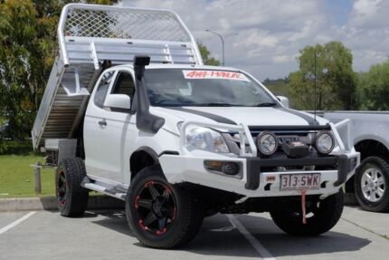 2012 Isuzu D-MAX MY12 SX Space Cab White 5 Speed Manual Cab Chassis
