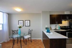 Queens and Colborne! Quiet + Beautifully Maintained Building!