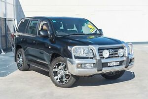 2008 Toyota Landcruiser VDJ200R Sahara Black 6 Speed Sports Automatic Wagon Brookvale Manly Area Preview