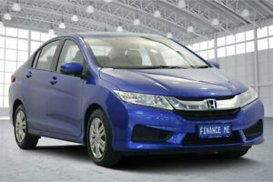 2015 Honda City GM MY14 VTi Blue 5 Speed Manual Sedan Victoria Park Victoria Park Area Preview