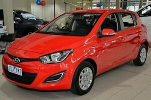 2013 Hyundai i20 Red Automatic Hatchback Narre Warren Casey Area Preview