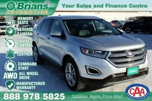2018 Ford Edge Titanium w/Mfg Warranty, Leather, AWD