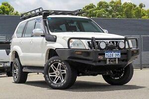 2008 Toyota Landcruiser Prado KDJ120R GX White 6 Speed Manual Wagon Maddington Gosnells Area Preview
