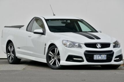 2013 Holden Commodore VF MY14 UTE SS Heron White Automatic Utility