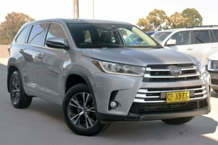 2017 Toyota Kluger GSU50R GX 2WD Silver Storm 8 Speed Sports Automatic Wagon Blacktown Blacktown Area Preview