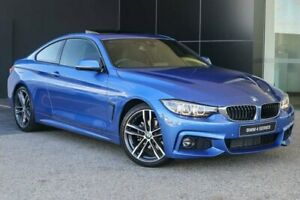 2019 BMW 420i F32 LCI M Sport Estoril Blue 8 Speed Sports Automatic Coupe Wangara Wanneroo Area Preview