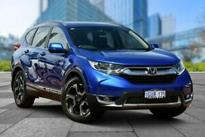 2018 Honda CR-V RW MY18 VTi-L FWD Blue 1 Speed Constant Variable Wagon
