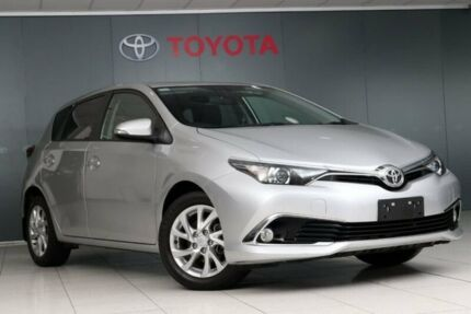 2017 Toyota Corolla ZRE182R Ascent Sport S-CVT Silver Pearl 7 Speed Constant Variable Hatchback Glebe Inner Sydney Preview