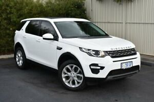 2016 Land Rover Discovery Sport L550 16.5MY Td4 HSE White 9 Speed Sports Automatic Wagon Devonport Devonport Area Preview
