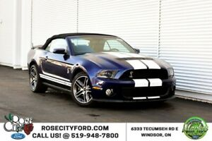 2010 Ford Mustang Shelby GT500 / ACCIDENT FREE / LEATHER /