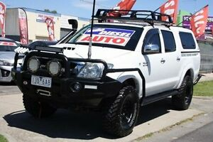 2011 Toyota Hilux KUN26R MY10 SR White 4 Speed Automatic Utility Altona North Hobsons Bay Area Preview