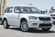 2015 Skoda Yeti 5L MY15 90TSI DSG Ambition White 7 Speed Sports Automatic Dual Clutch Wagon Pearce Woden Valley Preview