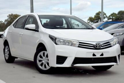 2015 Toyota Corolla ZRE172R Ascent S-CVT Glacier White 7 Speed Constant Variable Sedan Blacktown Blacktown Area Preview