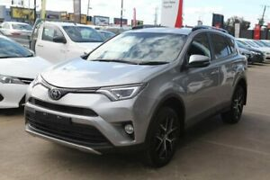 2018 Toyota RAV4 ASA44R GXL AWD Silver 6 Speed Sports Automatic Wagon Hoppers Crossing Wyndham Area Preview