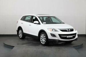 2010 Mazda CX-9 09 Upgrade Luxury White 6 Speed Auto Activematic Wagon