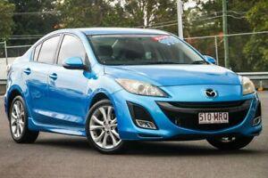 2009 Mazda 3 BL10L1 SP25 Blue 6 Speed Manual Sedan Hillcrest Logan Area Preview