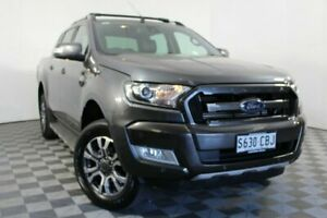 2017 Ford Ranger PX MkII 2018.00MY Wildtrak Double Cab Grey 6 Speed Sports Automatic Utility Wayville Unley Area Preview