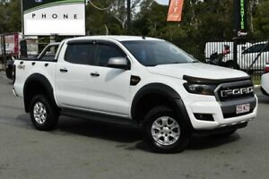 2016 Ford Ranger PX MkII MY17 XLS 3.2 (4x4) White 6 Speed Manual Dual Cab Utility Underwood Logan Area Preview