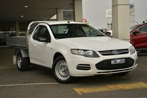 2013 Ford Falcon FG MkII EcoLPi Super Cab White 6 Speed Sports Automatic Cab Chassis Mornington Mornington Peninsula Preview