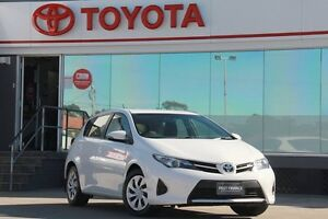 2014 Toyota Corolla ZRE182R Ascent Glacier White 7 Speed CVT Auto Sequential Hatchback Old Guildford Fairfield Area Preview