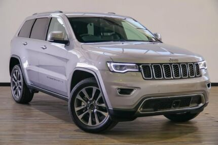 2017 Jeep Grand Cherokee WK MY18 Limited Silver 8 Speed Sports Automatic Wagon Myaree Melville Area Preview
