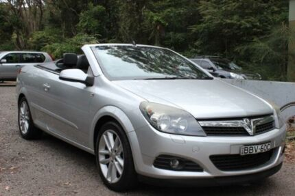 2007 Holden Astra AH Twin TOP Silver 6 Speed Manual Convertible