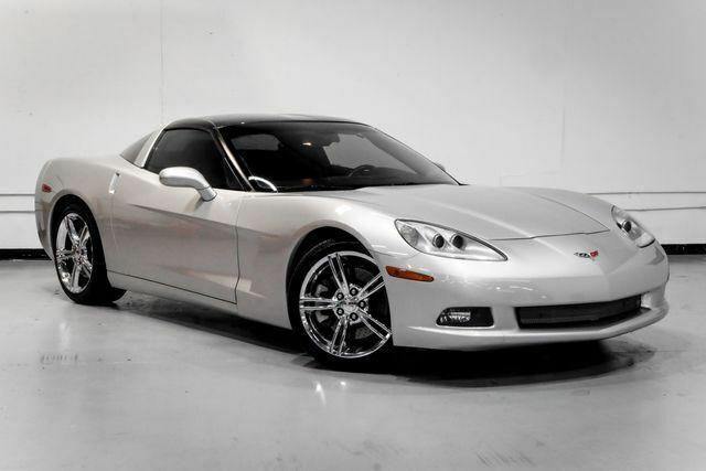 2008 Silver Chevrolet Corvette Coupe  | C6 Corvette Photo 7