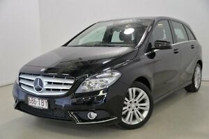 2012 Mercedes-Benz B200 W246 BlueEFFICIENCY DCT Black 7 Speed Sports Automatic Dual Clutch Hatchback Mansfield Brisbane South East Preview