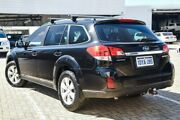 2011 Subaru Outback B5A MY11 2.5i Lineartronic AWD Columbia Black 6 Speed Constant Variable Wagon Morley Bayswater Area Preview