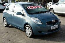2006 Toyota Yaris NCP90R YR Blue 4 Speed Automatic Hatchback Croydon Maroondah Area Preview