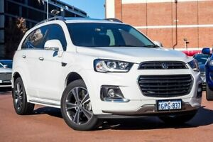 2018 Holden Captiva CG MY18 LTZ AWD White 6 Speed Sports Automatic Wagon Fremantle Fremantle Area Preview