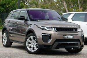 2016 Land Rover Range Rover Evoque L538 MY16.5 TD4 180 HSE Bronze 9 Speed Sports Automatic Wagon Gateshead Lake Macquarie Area Preview
