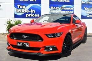 2016 Ford Mustang FM GT Fastback SelectShift Red 6 Speed Sports Automatic Fastback Epping Whittlesea Area Preview