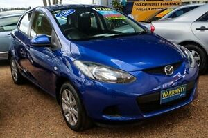 2007 Mazda 2 DY10Y2 Neo Blue 5 Speed Manual Hatchback Colyton Penrith Area Preview