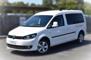 2015 Volkswagen Caddy 2K MY15 TDI320 Maxi DSG Comfortline White 6 Speed Sports Automatic Dual Clutch Berwick Casey Area Preview