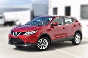 2015 Nissan Qashqai J11 ST Red 1 Speed Constant Variable Wagon Berwick Casey Area Preview