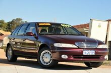 1997 Ford Fairlane NL Ghia Burgundy 4 Speed Automatic Sedan Bayswater Bayswater Area Preview