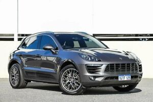 2016 Porsche Macan 95B MY17 S PDK AWD Grey Sports Automatic Dual Clutch Wagon Cannington Canning Area Preview