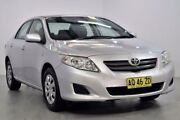 2007 Toyota Corolla ZRE152R Ascent Silver 4 Speed Automatic Sedan Lansvale Liverpool Area Preview