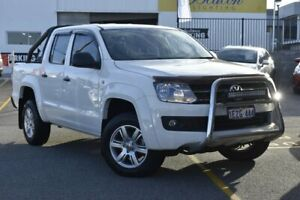 2016 Volkswagen Amarok 2H MY16 TDI420 4MOTION Perm Core Plus White 8 Speed Automatic Utility Nedlands Nedlands Area Preview